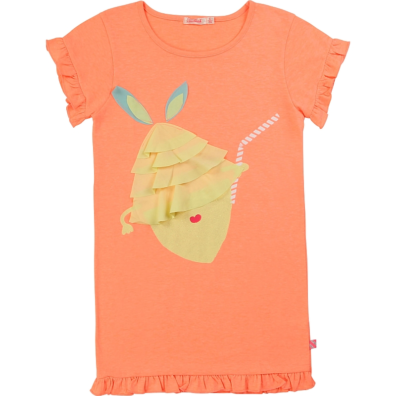 Billieblush Pineapple dress Peach