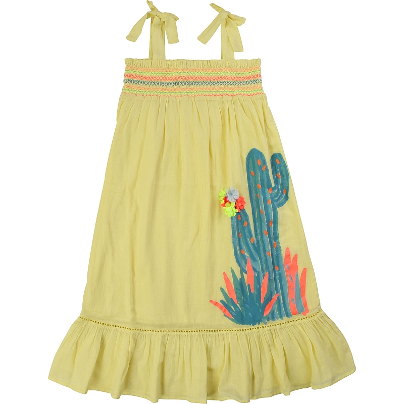 Billieblush  cactus dress lime