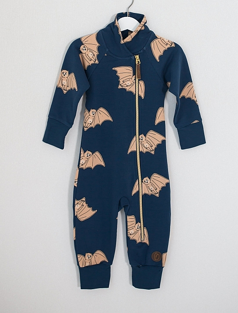 Blaa! Bern Jumpsuit Bat Night Blue