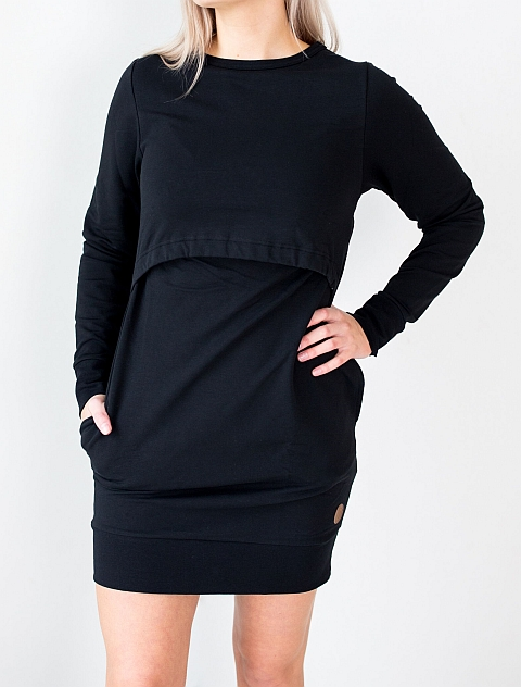 Blaa! Bourges Nursing Tunic Black