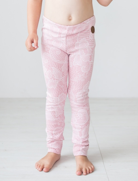 Blaa! Paris Lace Rose Leggings