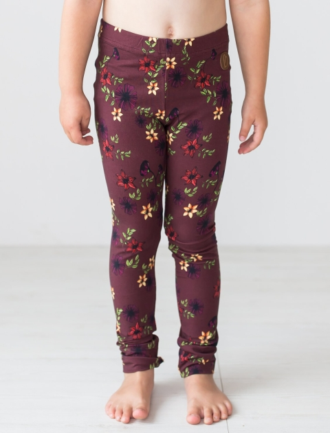 Blaa! Paris Bouquet Leggings