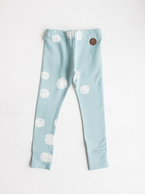 Blaa! Paris Dot light Blue Leggings