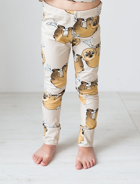 Blaa! Paris Leggings Sloth
