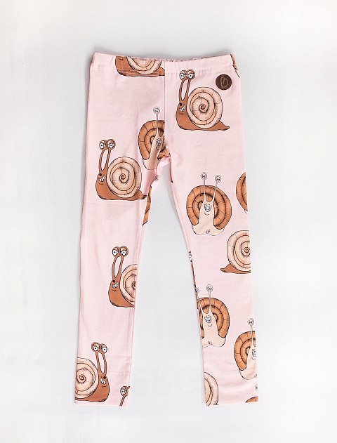 Blaa! Paris  Leggings Snail rose