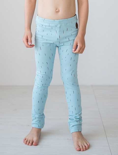 Blaa! Paris Leggings Pile light Blue