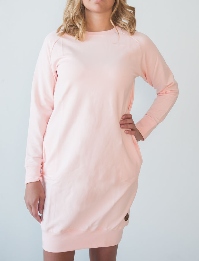 Blaa! Philadelphia Woman Tunic, College Seashell Pink