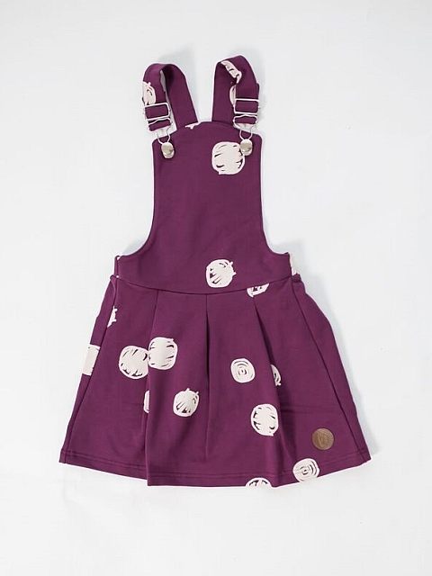 Blaa! Venice College Dress Dot purple