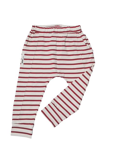 Booso Bird pants ecru red