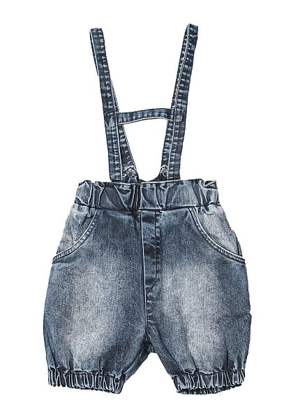 Booso Jeans suspender shorts