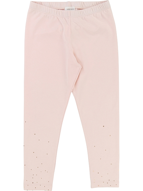 Carrement Beau Leggings Pale pink polkadot