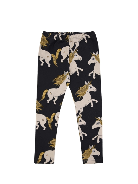 Dear Sophie  Black Unicorn Leggings
