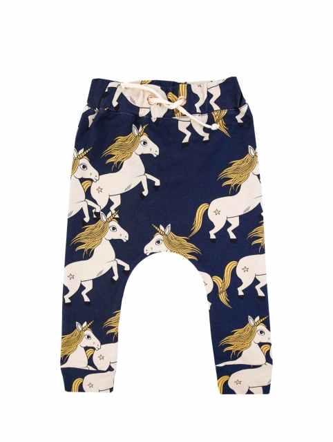 Dear Sophie Navy Unicorn Pants