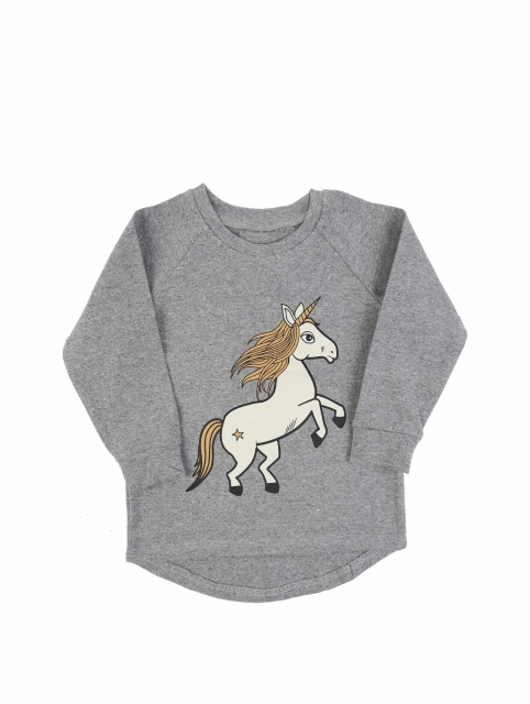 Dear Sophie Grey Unicorn Paita