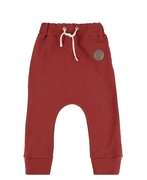 Dear Sophie Basic Pants Punainen
