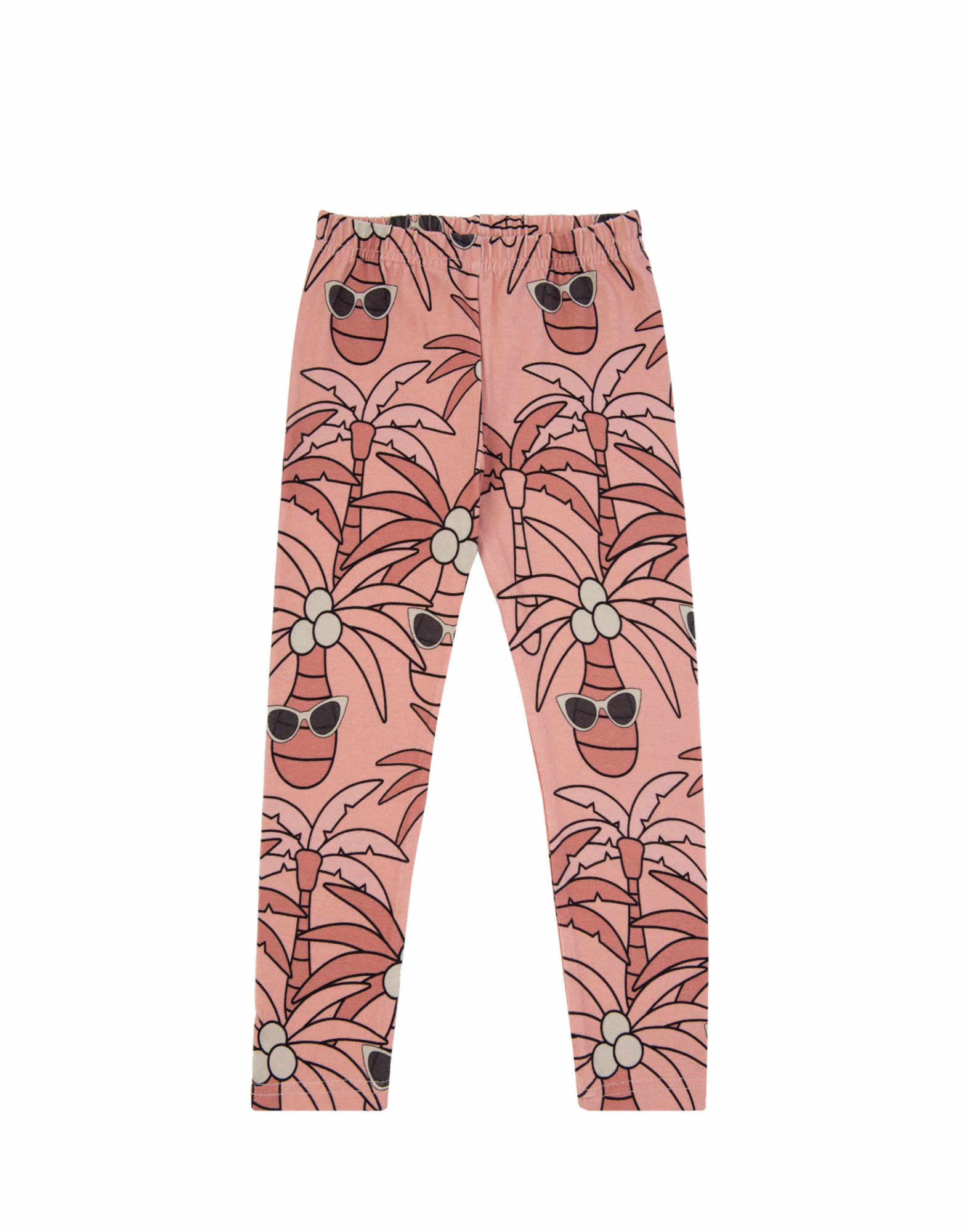 Dear Sophie  Pink Palm Leggings