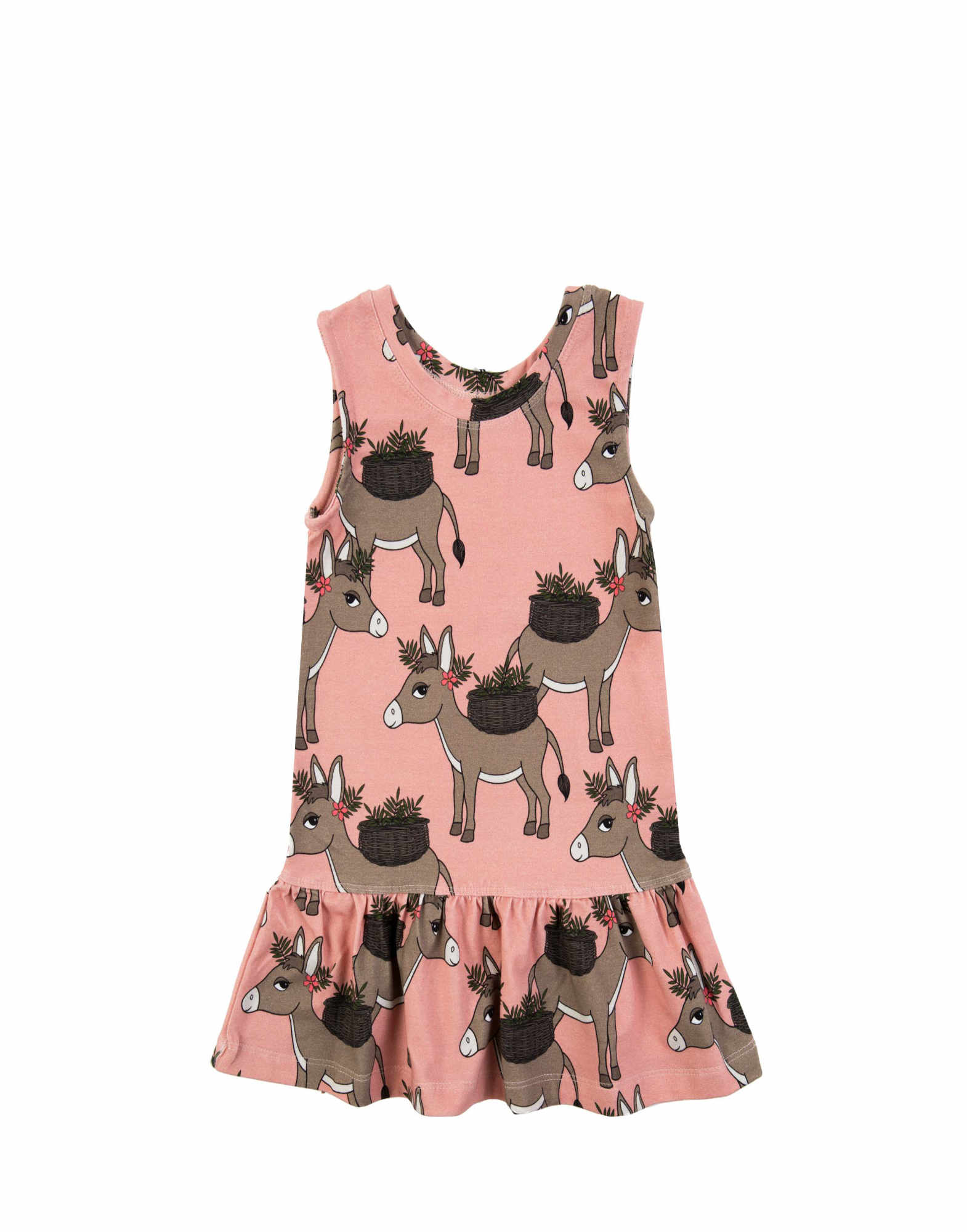 Dear Sophie Donkey Pink Dress