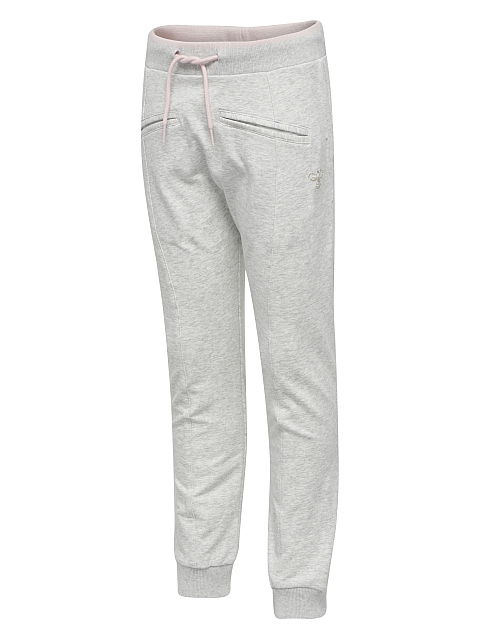 Hummel Taylos Pants Light grey melange