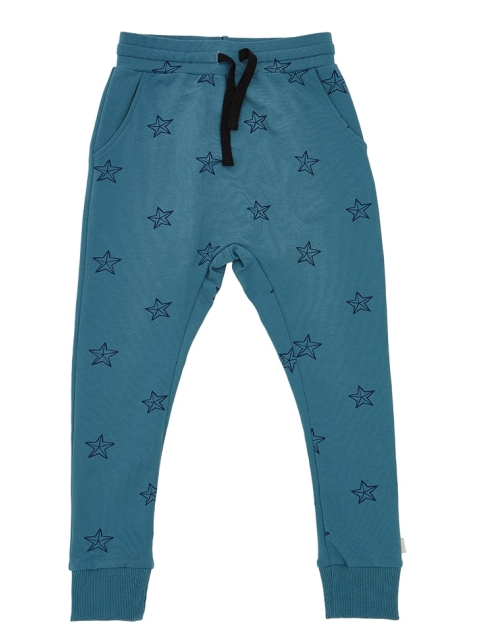iglo+indi Blue star pants