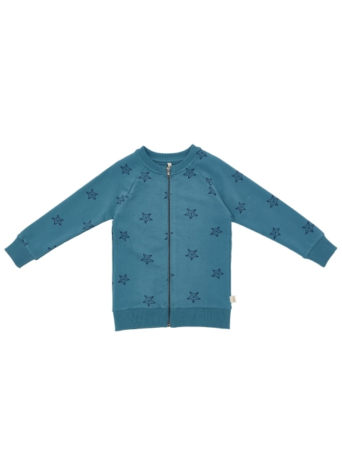 iglo+indi Blue star Zipped Crew soft blue