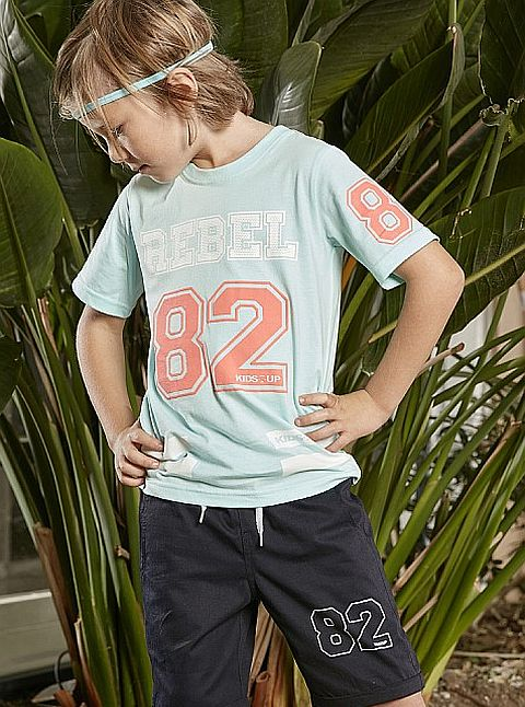 Kids Up Grey Rebel 82 T-paita Ice mint