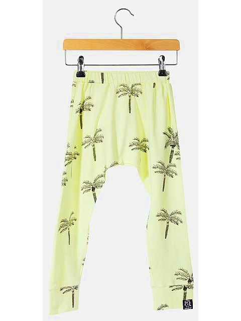 Kukukid Baggy pants Lemon Palms