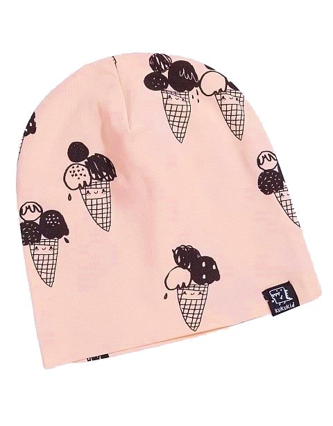 Kukukid Beanie Icecream peach