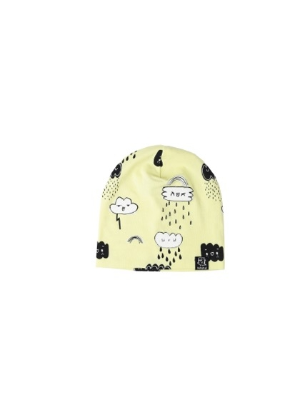 Kukukid Beanie Yellow clouds