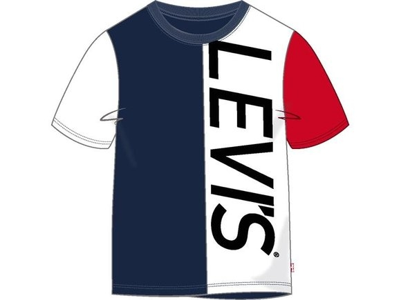 Levi's Clolor Blocked ss tee navy/white/red