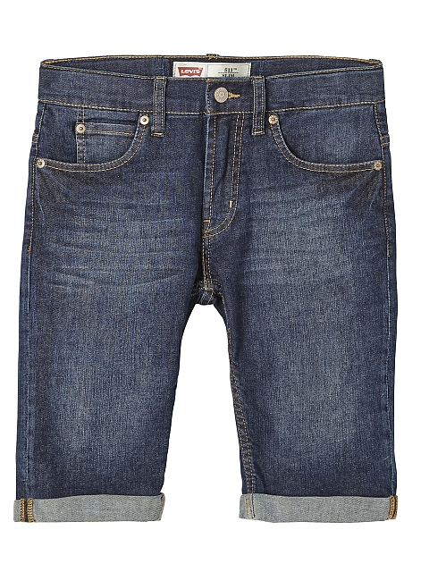 Levi's 511 Slim Fit Farkkushortsit Denim