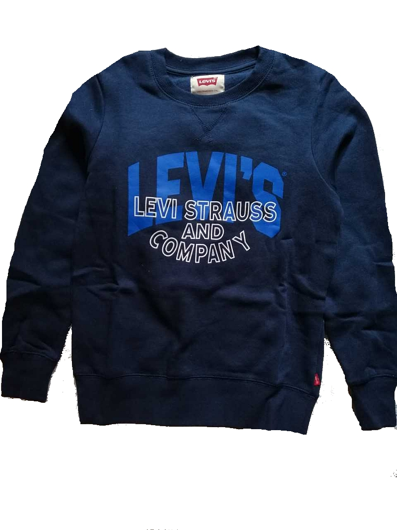 Levi's Strauss and Company  Sweatshirt dress blue