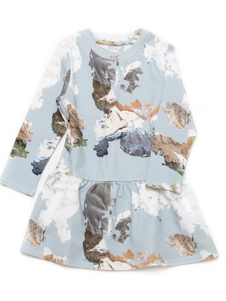Little Man Happy Eagle Eye Volant Dress