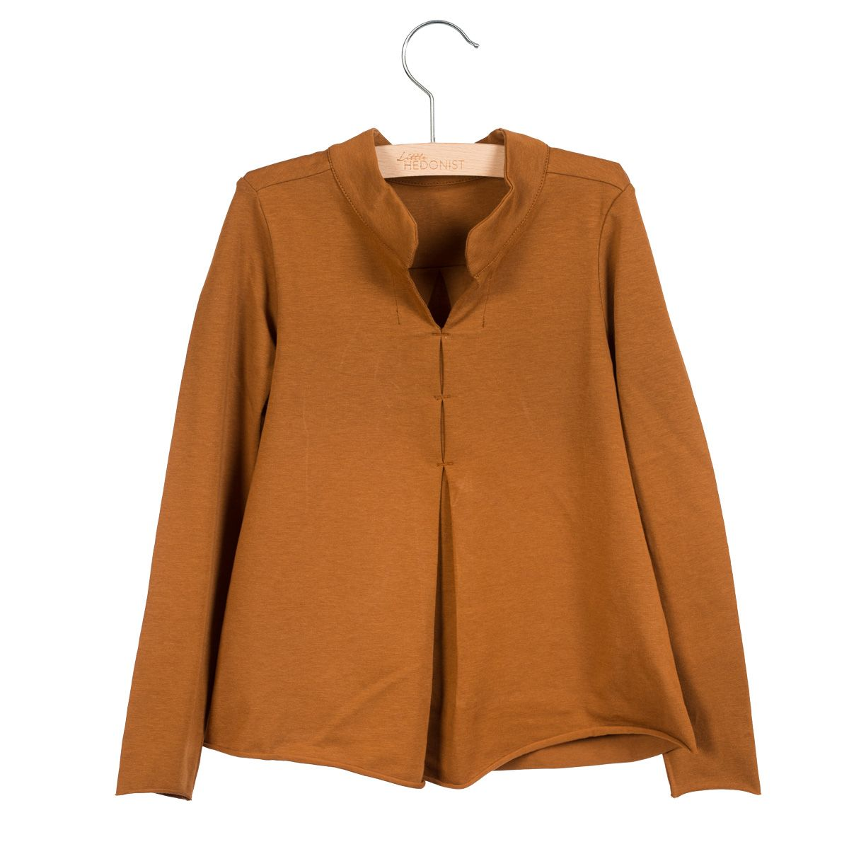 Little Hedonist Top Rickey Caramel Brown