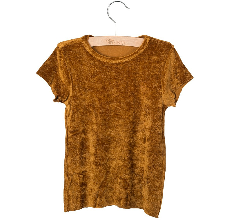 Little Hedonist Dean T-shirt Gold