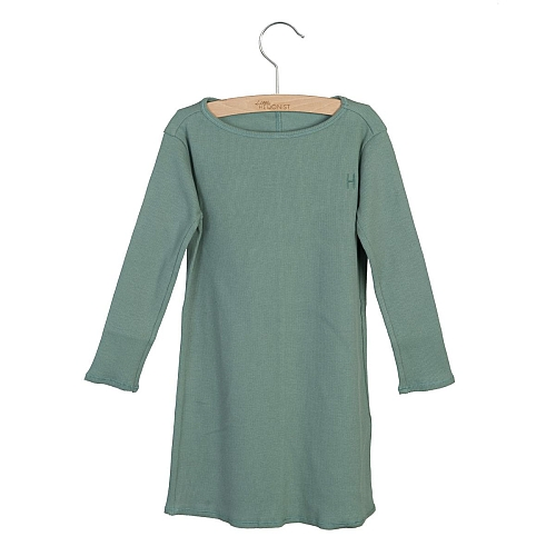 Little Hedonist Dress  Chinois green