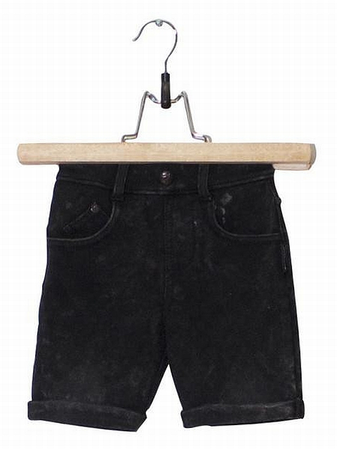 Lucky no.7 Black Jog Denim Shortsit