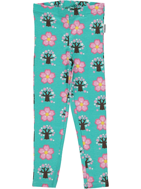 Maxomorra Cherry Blossom leggings