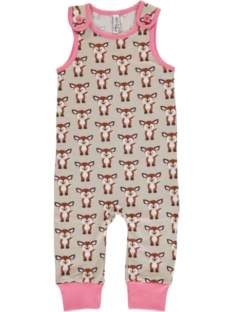 Maxomorra Fawn  Playsuit