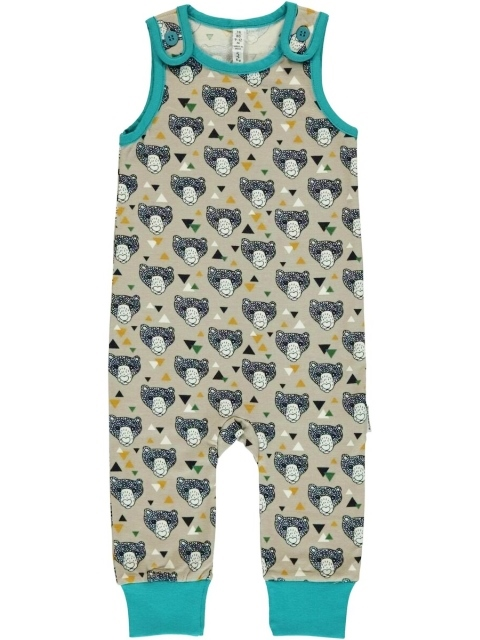 Maxomorra Grizzly bear Playsuit
