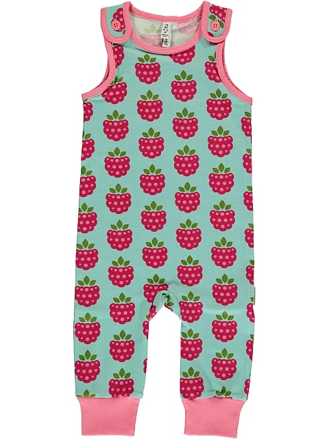 Maxomorra Rasberry  Playsuit