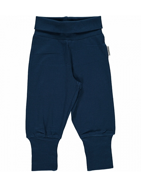 Maxomorra Pants Rib Navy