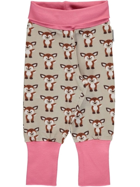 Maxomorra Fawn Rib pants
