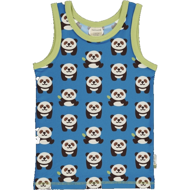 Maxomorra Playfull Panda tank top