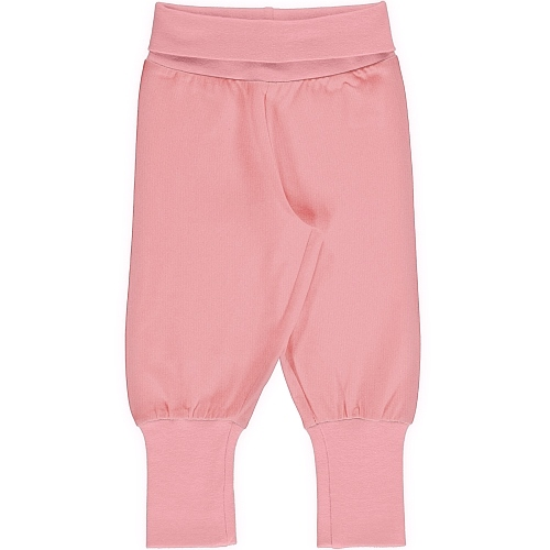 Maxomorra Pants Rib Solid blossom