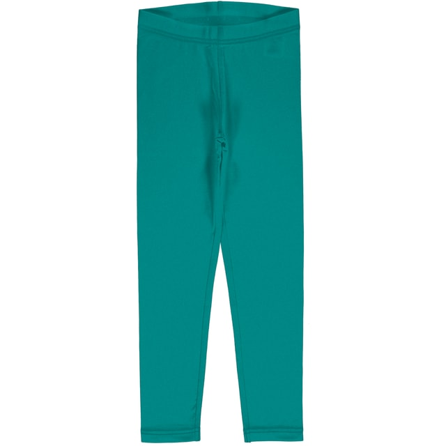 Maxomorra Leggings Solid Lagoon