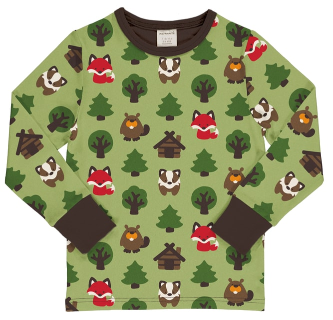 Maxomorra Green Forest  Top LS
