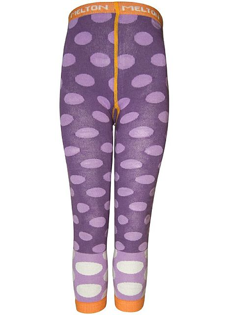 Melton Leggings Lila pallo