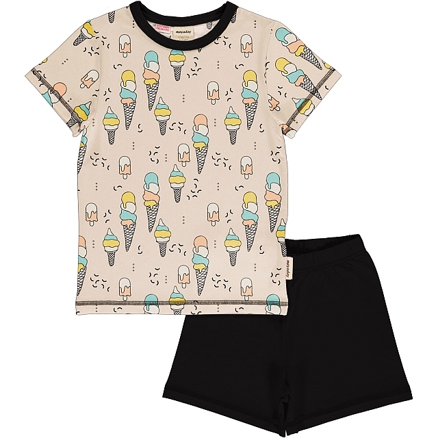 Meyadey Ice Cream Confetti ss tee and shorts