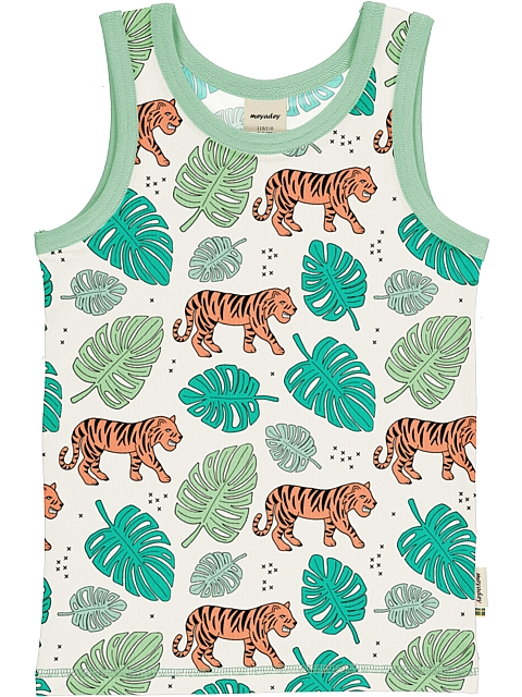 Meyadey Tiger Jungle tank top