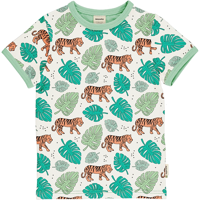 Meyadey Tiger Jungle ss top